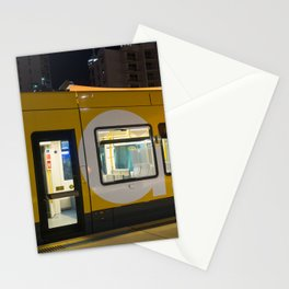 Light Rail Travel Stationery Cards