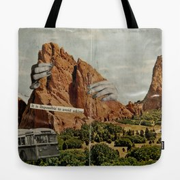 It Is Impossible To Avoid Asking Tote Bag