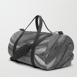 The Dream in Black and White Duffle Bag