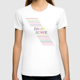 bowie stripe T-shirt