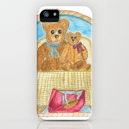 For The Love Of Teddys iPhone Case