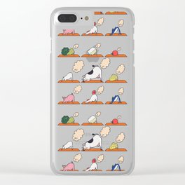 Greenhouse Gas Exhale Clear iPhone Case