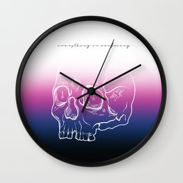 Everything is Confusing Wall Clock