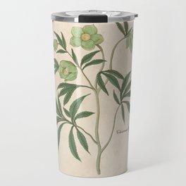 The Christmas Rose Travel Mug