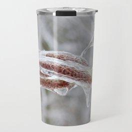 Frozen Catkins Travel Mug