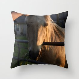 She's a Beauty... Throw Pillow
