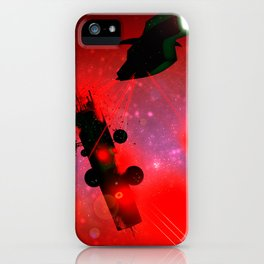 ATTACK - Heavy Metal Thunder Artwork iPhone Case