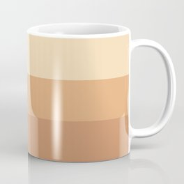 Burnt Orange Rainbow - Warm Red Gradient by Design by Cheyney Coffee Mug