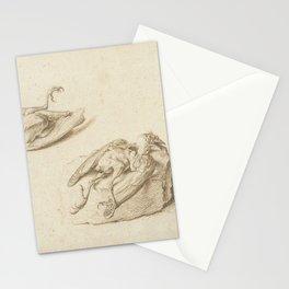 Jacob de Gheyn II - Two Studies of a Dead Bird Stationery Cards