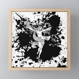 Fairy Victory Framed Mini Art Print