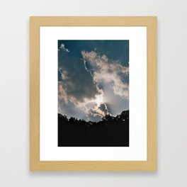 the clearing Framed Art Print