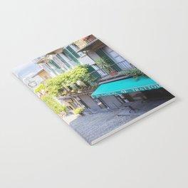 Bellagio stairway, Lake Como, Italy Notebook