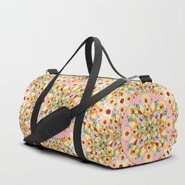 Pink Pastel Carousel Duffle Bag