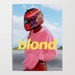 Blond Pink Poster