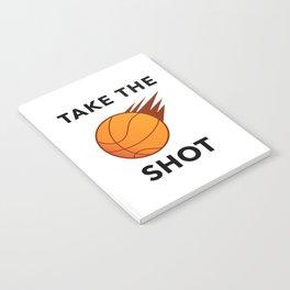 Take The Ball Shot Notebook