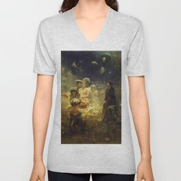 Mermaid Sadko Underwater Kingdom Unisex V-Neck