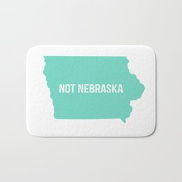 Not Nebraska  Bath Mat
