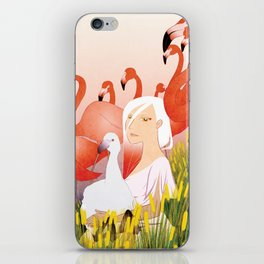 13 Flamencos iPhone Skin