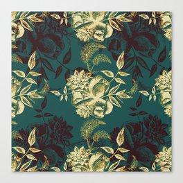 Illustrations of Florals Canvas Print