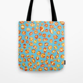 Gemstone Field Tote Bag