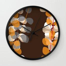 Retro Pattern 04 Wall Clock
