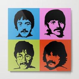 Bleatles Sgt. Pepper's Metal Print