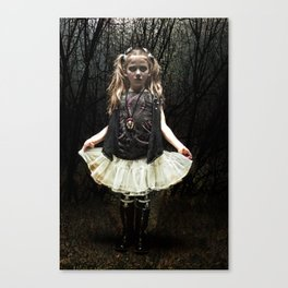 Dark Child Canvas Print