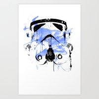 Modern Trooper Art Print
