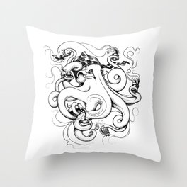 Mr Coladita Throw Pillow