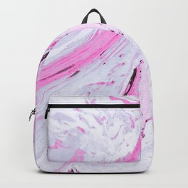Watercolor effect marble Backpack