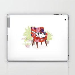 Sleeping Dog in Armchair – Light Version Laptop & iPad Skin