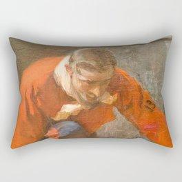 Number 13 Rectangular Pillow
