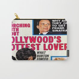 Vintage Movie Mirror Magazine 1963 Carry-All Pouch