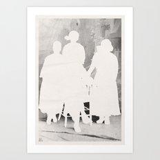 the secret family Art Print