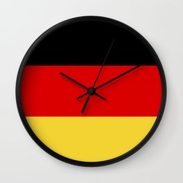 germany country flag Wall Clock
