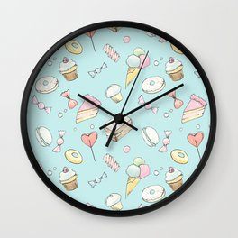 Breakfast at Tiffany's Wall Clock