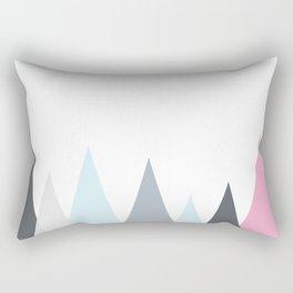 Scandinavian Geometric vector pattern Rectangular Pillow
