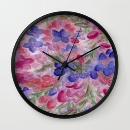 The Color of Death Wall Clock