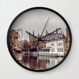 Brugges, Belgium Wall Clock