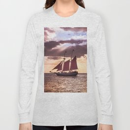Scarlet sails Long Sleeve T-shirt