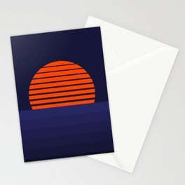 Lava Moon Rising Stationery Cards