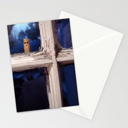 Peeping Cigarette Stationery Cards