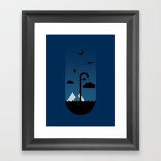 My Umbrella  Framed Art Print