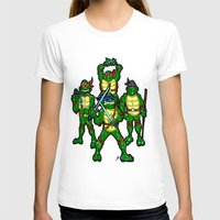teenage mutant ninja turtles T-shirts featuring Teenage Mutant Ninja Turtles by beetoons