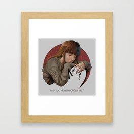 AIKO AND PUNPUN Framed Art Print