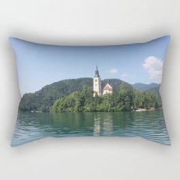 Bled Island, Slovenia Rectangular Pillow