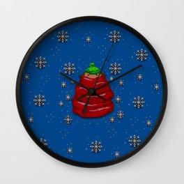 Scarf Girl Wall Clock