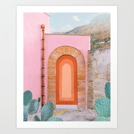 Sicilian Arch Art Print