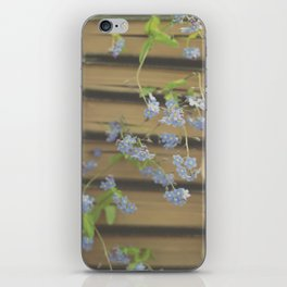 Forget Me Not Bookmark iPhone Skin