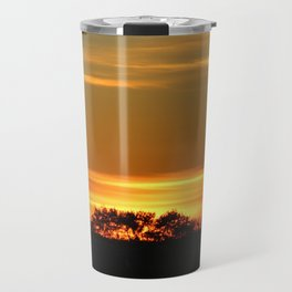 Sunset On The Prairies Travel Mug